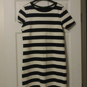 J crew tee shirt dress